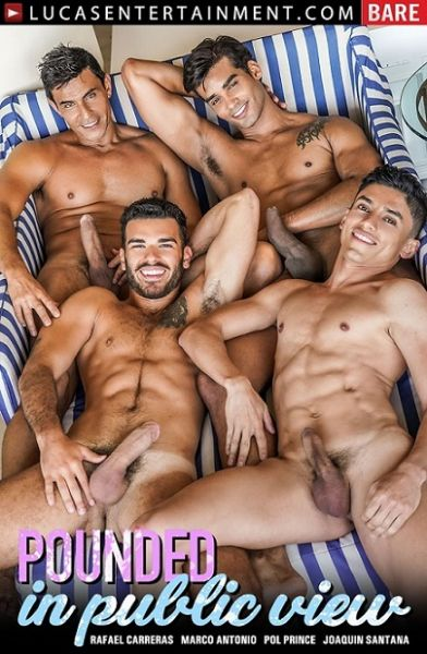 LucasEntertainment - Marco Antonio, Pol Prince, Rafael Carreras, Joaquin Santana - Raw Foursome