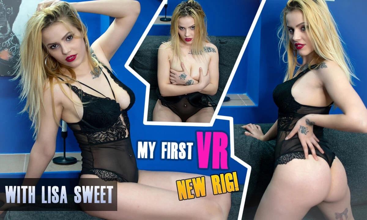 My First VR, Lisa Sweet, Feb 16, 2021, 3d vr porno, HQ 3160