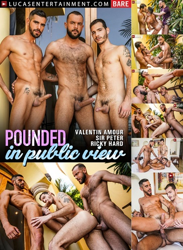LucasEntertainment - Sir Peter And Ricky Hard Double Team Valentin Amour