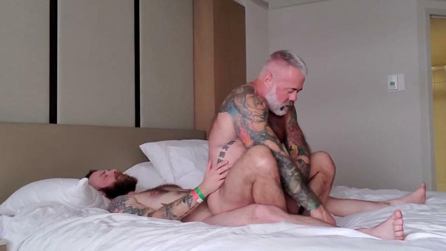 RawFuckClub - Daryl Richter & Fischer Bradley - Daddy's Furry Boy Part II