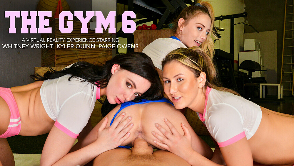 Tag team a gym stud, Paige Owens, Kyler Quinn, Whitney Wright, April 23, 2021, 3d vr porno, HQ 2048