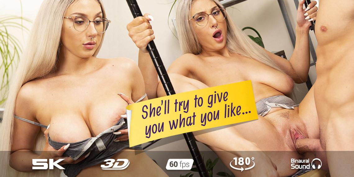 Yes, Boss...Skylar Vox on the Mic, Skylar Vox, April 16, 2021, 3d vr porno, HQ 2880