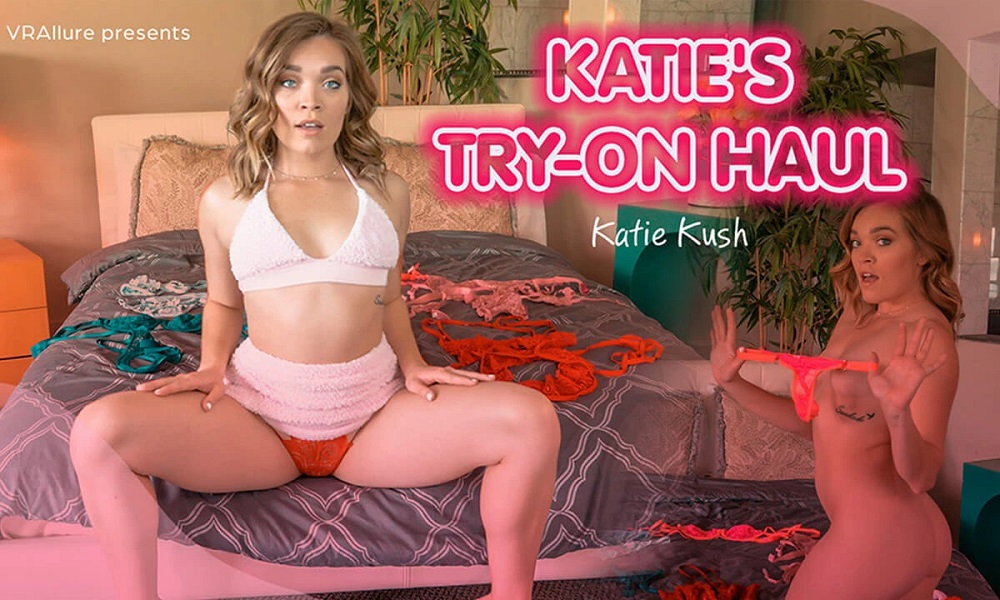 Katie's Try-On Haul, Katie Kush, Apr 18, 2021, 3d vr porno, HQ 3840