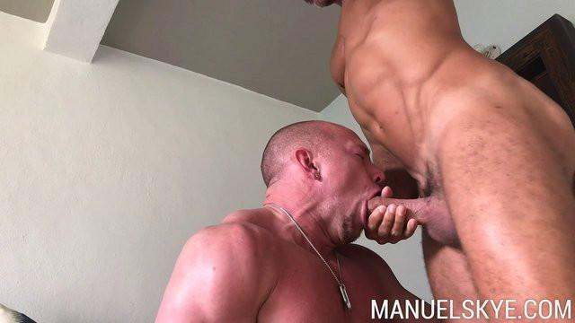 OnlyFans - Manuel Skye - Having a taste of @tldysons sweet man scent