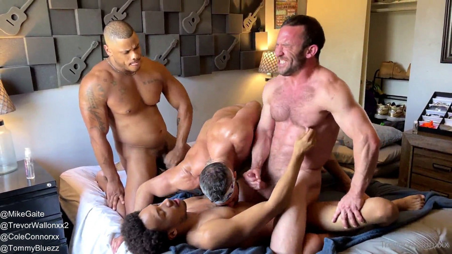 OnlyFans - Trevor Wallon, Cole Connor, Mike Gaite & Tommy Bluezz