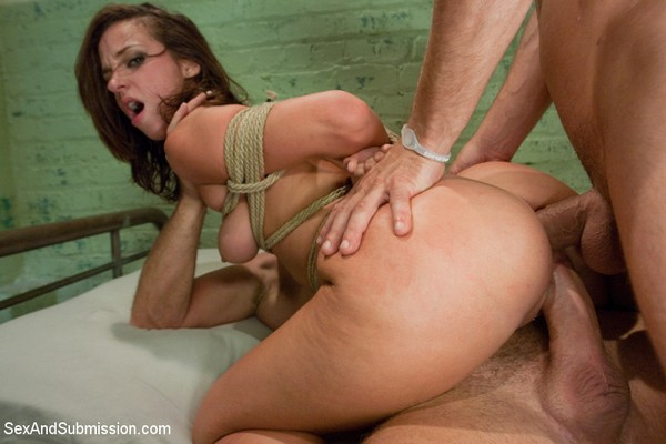 Jada Stevens - BDSM and Rough Sex - Married to the Mob (HD 720p)