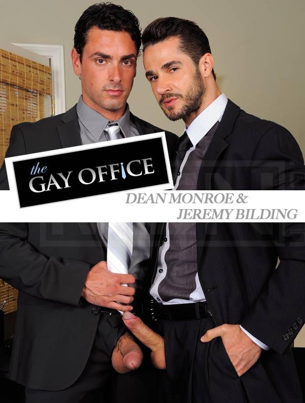 MEN - The Gay Office - Suited To Fuck - Dean Monroe & Jeremy Bilding