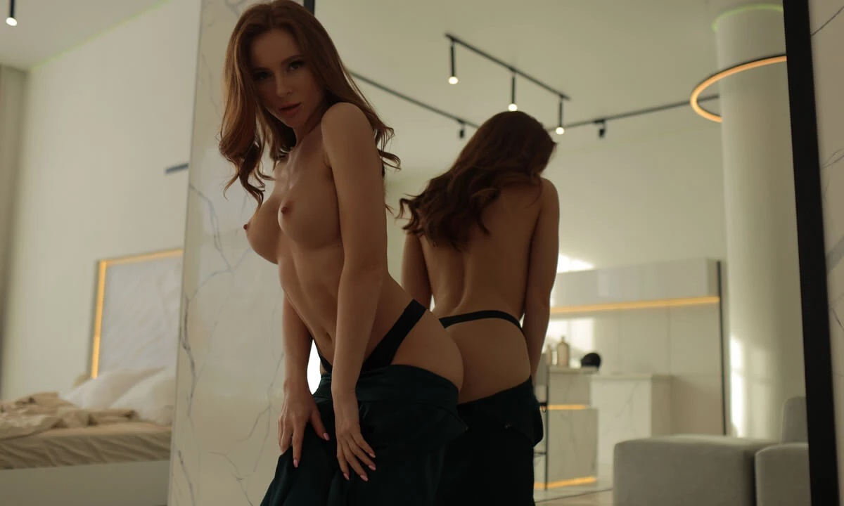 Green is the Color of Lust, ChantalQ, May 14, 2021, 3d vr porno, HQ 2900
