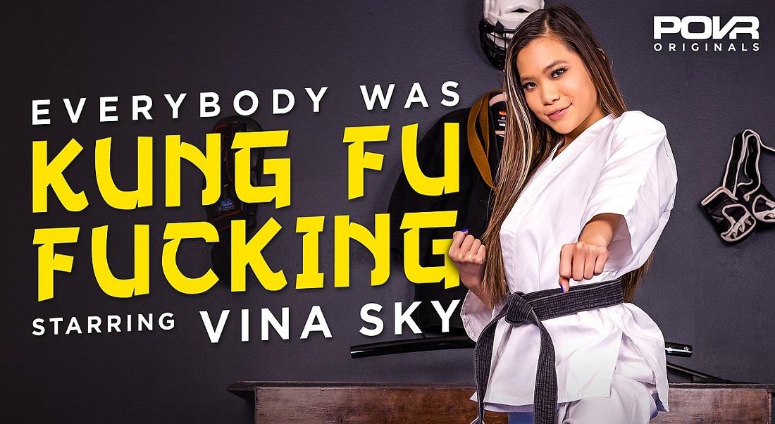 Everybody Was Kung Fu Fucking, Vina Sky, 7 April, 2021, 3d vr porno, HQ 3600