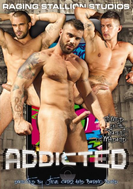 Raging Stallion - Addicted scene 4 - Francesco D'Macho, Lucio Saints & Tomy Hawk