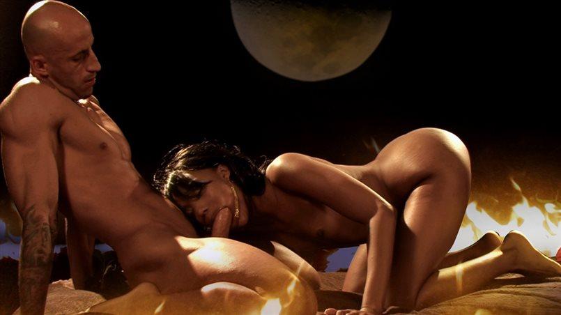 Black Pornstar Kapri Loves Anal Sex and Wants Some Tonight