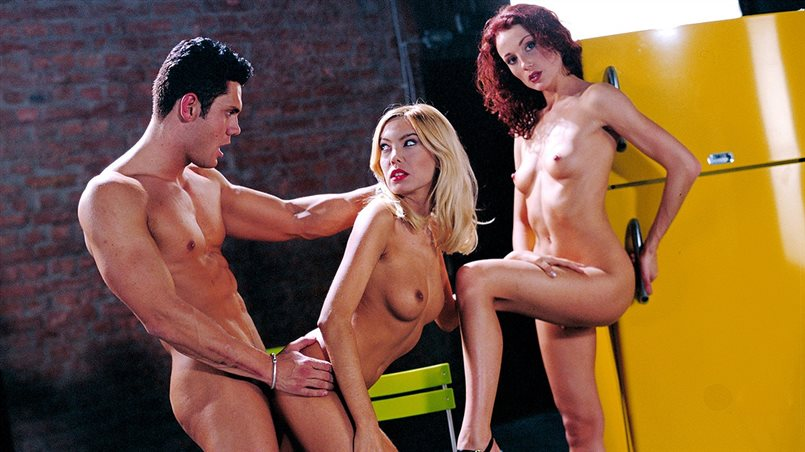 Genevievre and Zita Masturbate While Each Get Her Assholes Penetrated