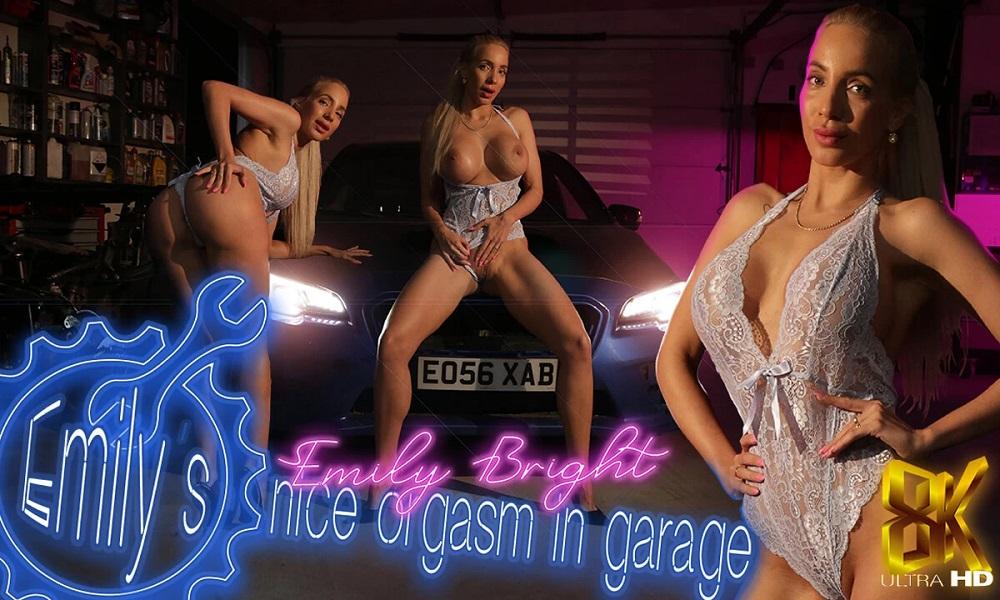 Emily's Nice Orgasm in Garage, Apr 21, 2021, 3d vr porno, HQ 3840