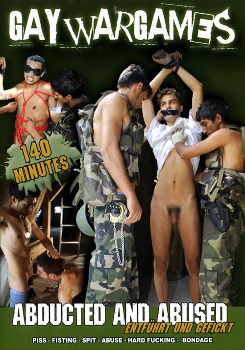 Gay War Games - Abducted and Abused