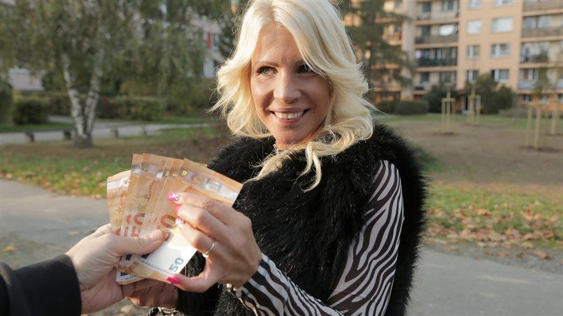 Spending his winnings on MILF