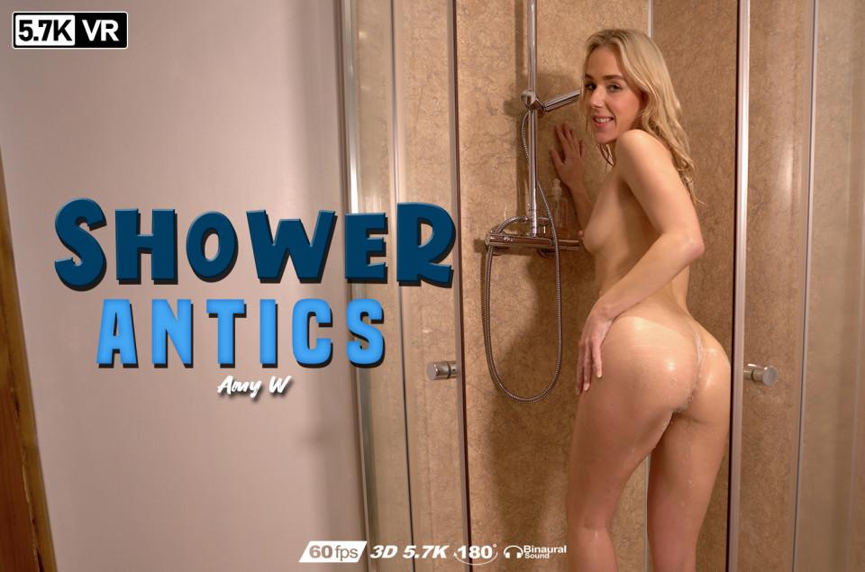 Shower Antics, Amy W, May 9, 2020, 3d vr porno, HQ 2880