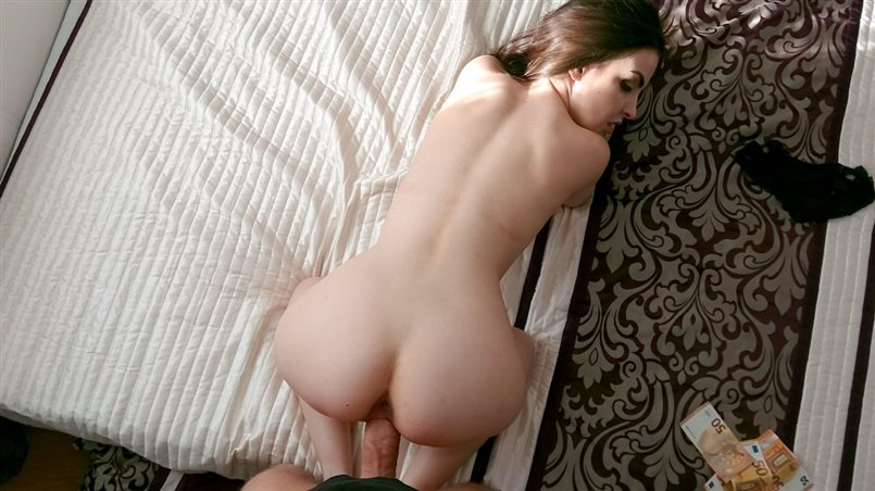 Puffy Nippled Russian Fucked in Bedroom