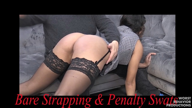 Bare Strapping And Penalty Swats – Actually Part 3-1