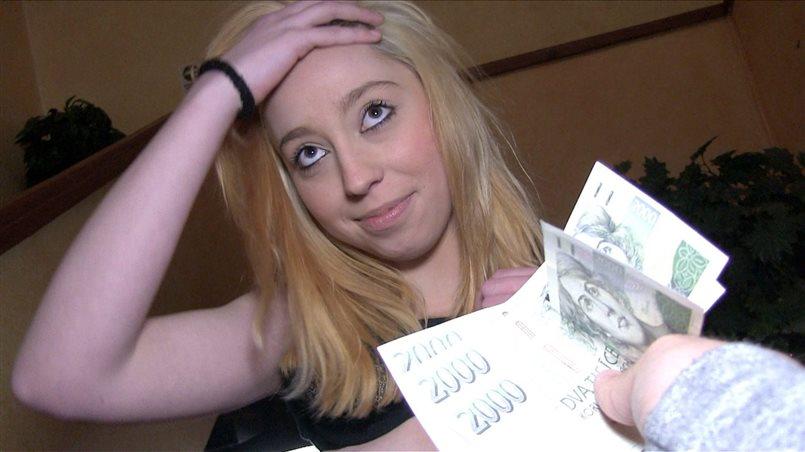 Innocent Teen Bends Over for Cash
