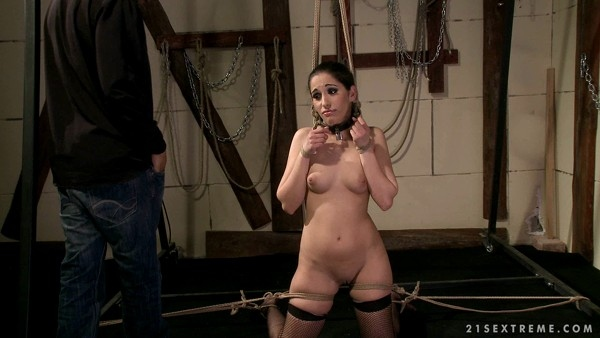 Jesika Gold - BDSM and Bondage - Roped And Groped (FullHD 1080p)