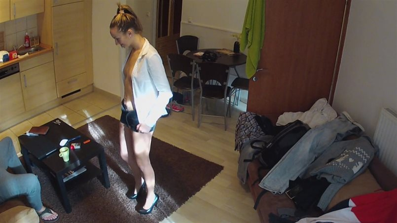 Dirty Maid Polishes Off Stranger