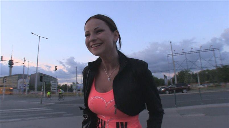 Pornstar Fucks Lucky Stranger With Camera