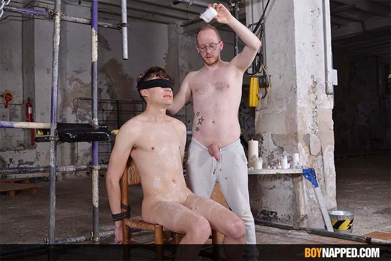 BoyNapped - Sean Taylor & Danny Bianchi - Sadistic Sean Has Fun With Danny - Part 1