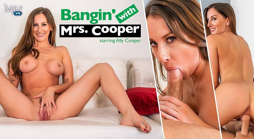 Bangin' With Mrs. Cooper, Ally Cooper, 24 June, 2021, 3d vr porno, HQ 3600