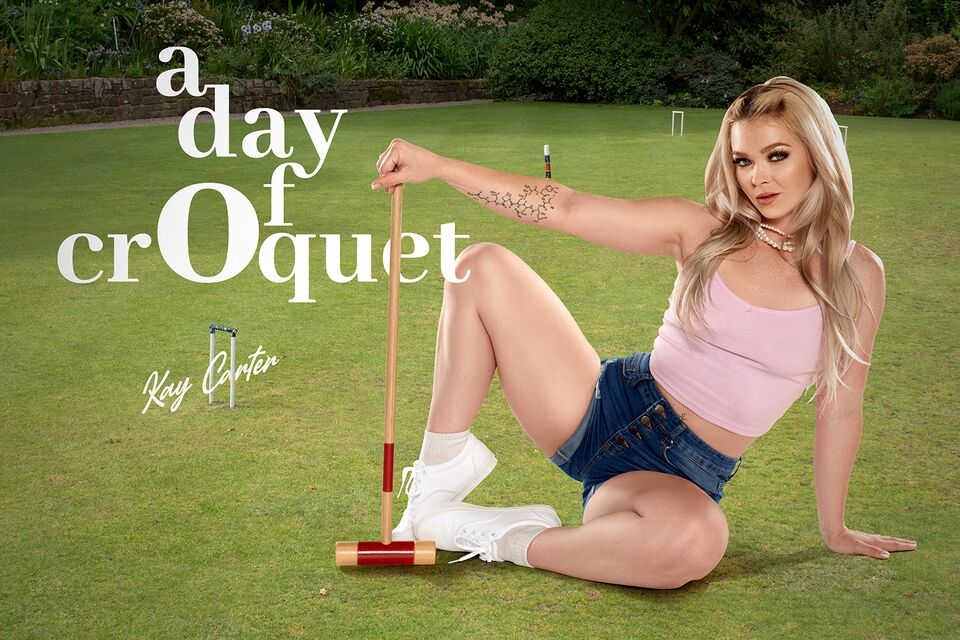 A Day Of Croquet, Kay Carter, June 26, 2021, 3d vr porno, HQ 2700