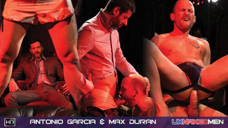 UKnakedMen - Antonio Garcia  Max Duran - Private Dancer