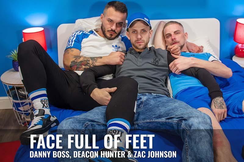 Scottxxx - Danny Boss, Daecon Hunter and Zac Johnson - Face Full Of Feet