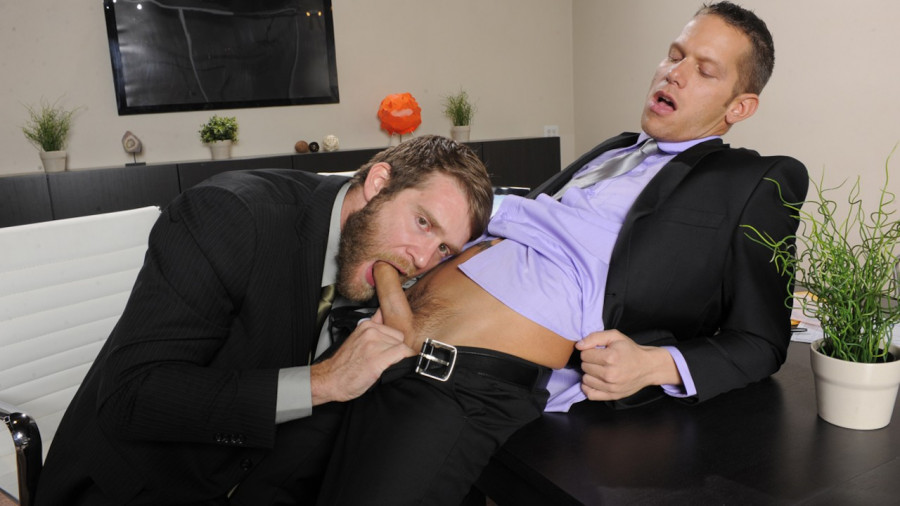 MEN - The Gay Office - The Boardroom - Shane Frost & Colby Keller
