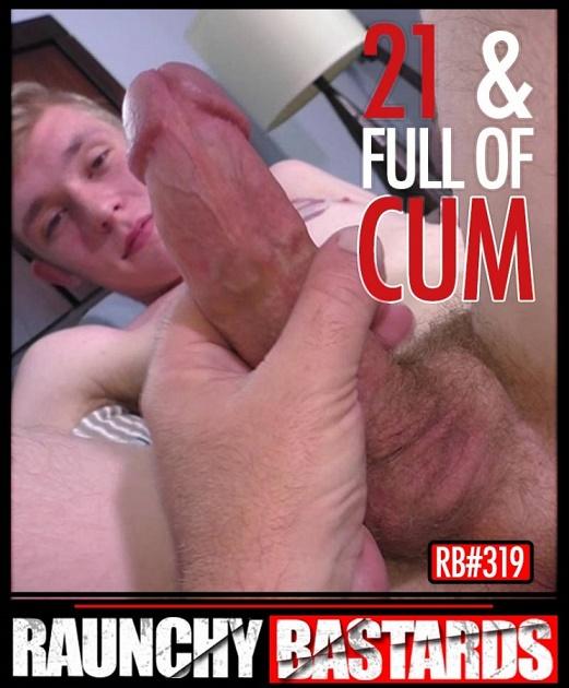 RaunchyBastards - Clay & Jack Simmons - 21 & Full Of Cum