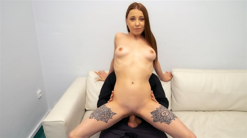 Redhead loves to suck cock