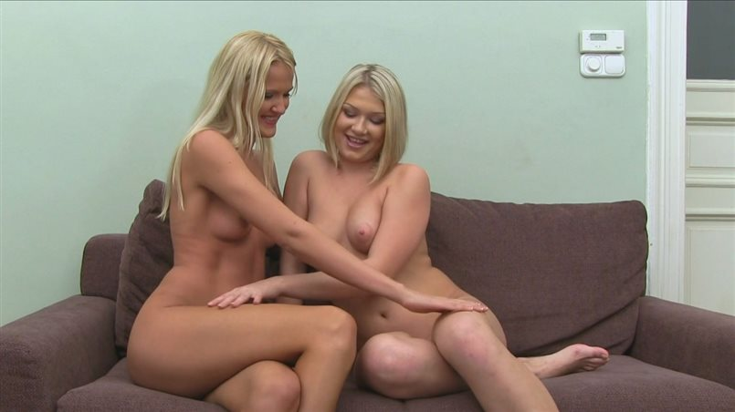 Two Blondes Fuck And Suck Agent