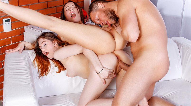 Horny trio tries Kamasutra games