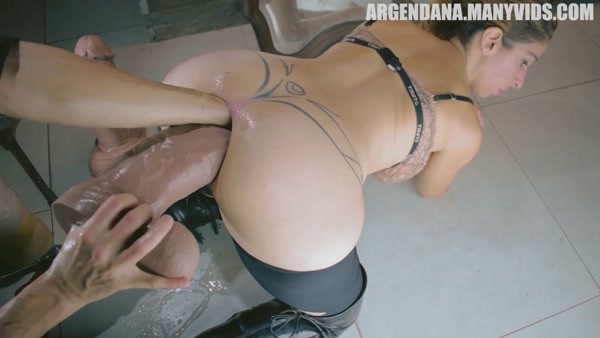 ArgenDana - Anal Fisting and Huge Dildo - Expanding my anal limits (2020 / FullHD 1080p)