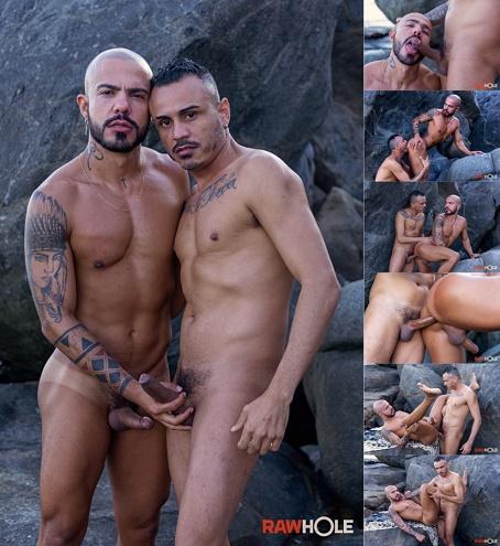 RawHole - Kadu & Patrick - Brazil Beach Barebackers