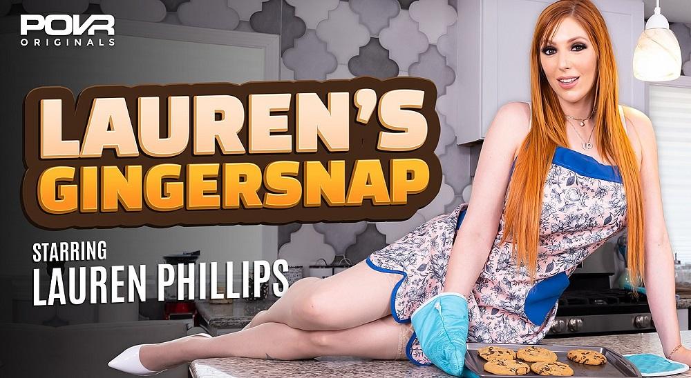 Lauren's Gingersnap, Lauren Phillips, 14 July, 2021, 3d vr porno, HQ 3600