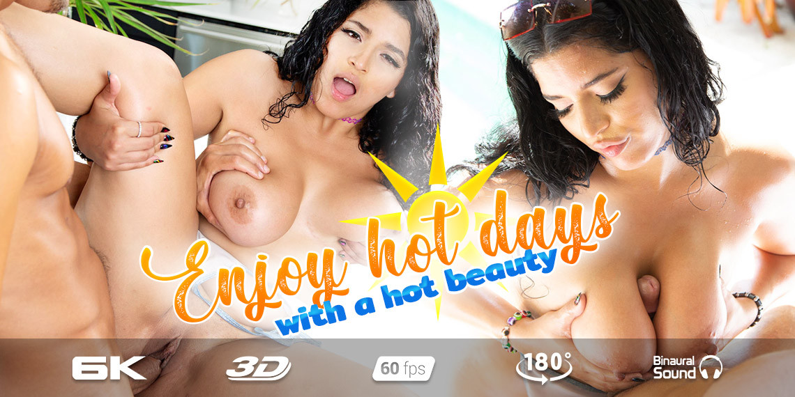 Summertime with Gabriela Lopez, July 6, 2021, 3d vr porno, HQ 2880