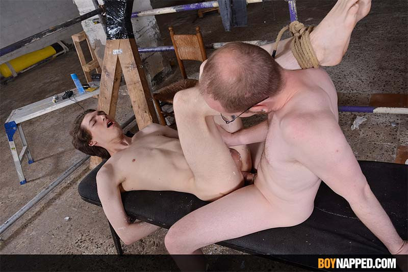BoyNapped - Sean Taylor & Jake Hunter - Making Full Use Of The Hung Twink - Part 2