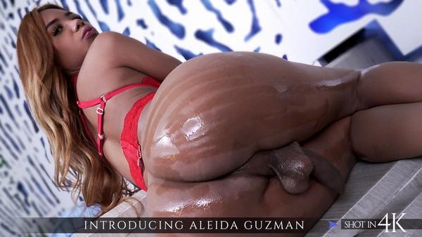 Aleyda Guzman - Transsexuals Bareback Fuck - Introducing Aleyda Guzman (HD 720p)