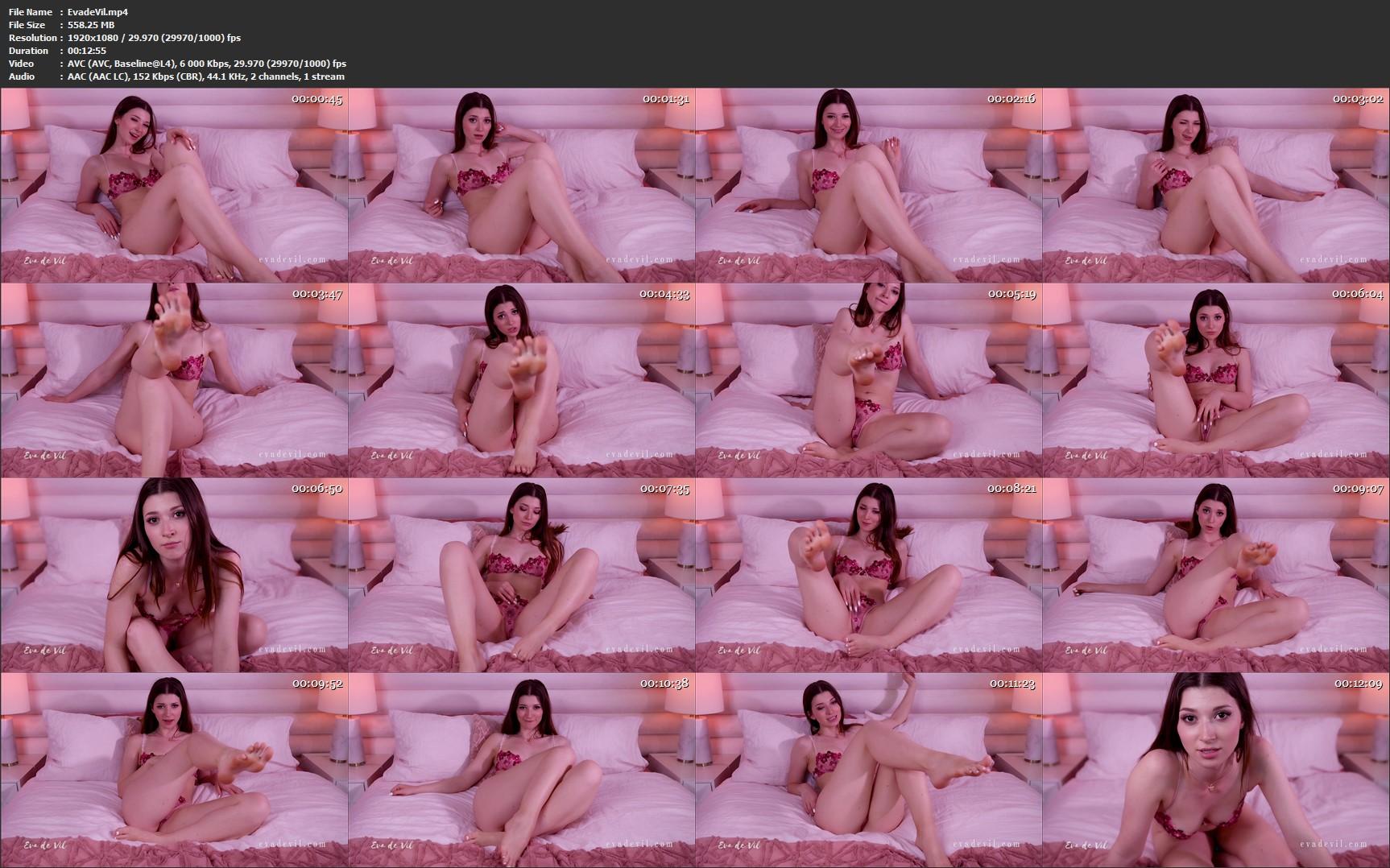Eva de Vil - Only Feet For Pussyless Losers
