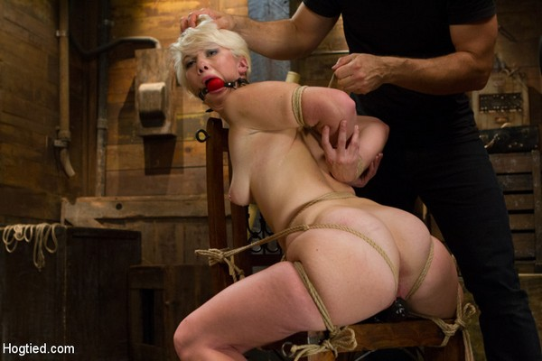Lexi Larue - BDSM, Bondage and Domination - Blond College Student Tied Tight and Brutally Fucked (HD 720p)