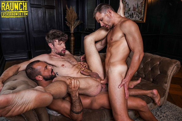 LucasRaunch - Sir Peter And Andrey Vic Double Penetration Drew Dixon