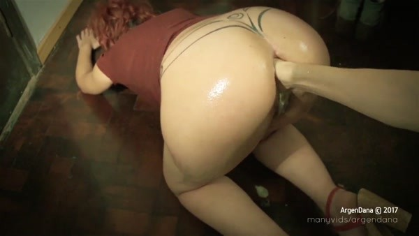 ArgenDana - Anal fisting - ArgenDana in Anal fisting and huge objects at my home - ASS 4 DILDO (FullHD 1080p)