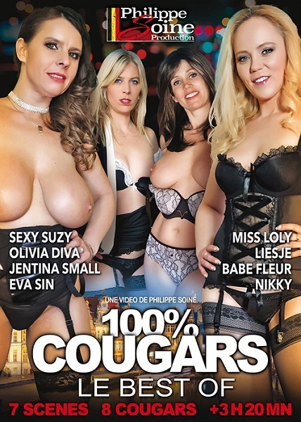 100% Cougars - le Best Of / 100% Cougars - The Best (Year 2018 / HD Rip 720p)