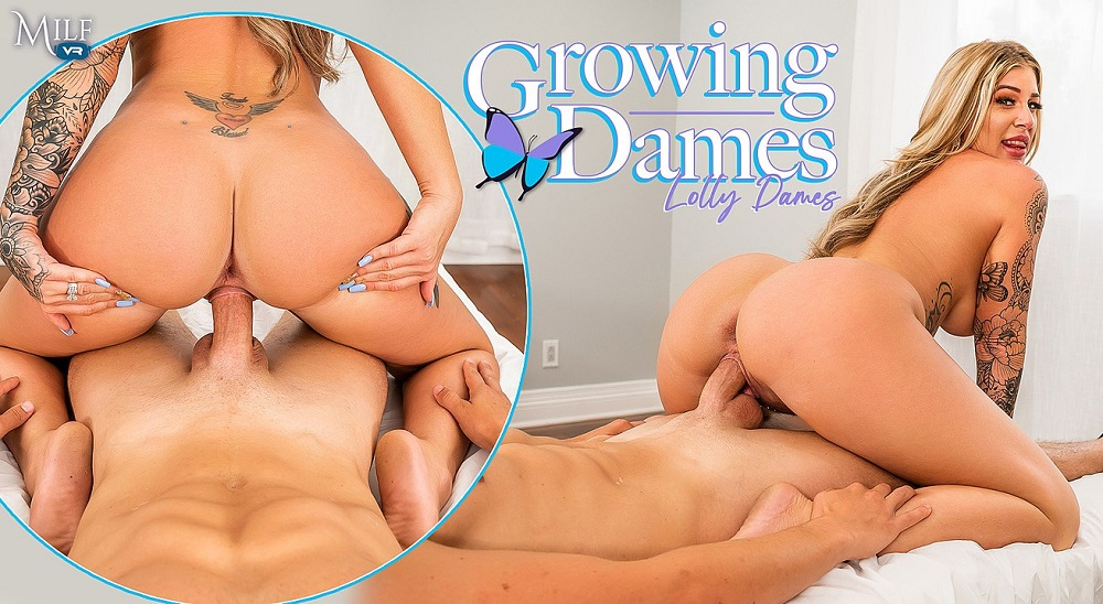 Growing Dames, Lolly Dames, 29 July, 2021, 3d vr porno, HQ 3600