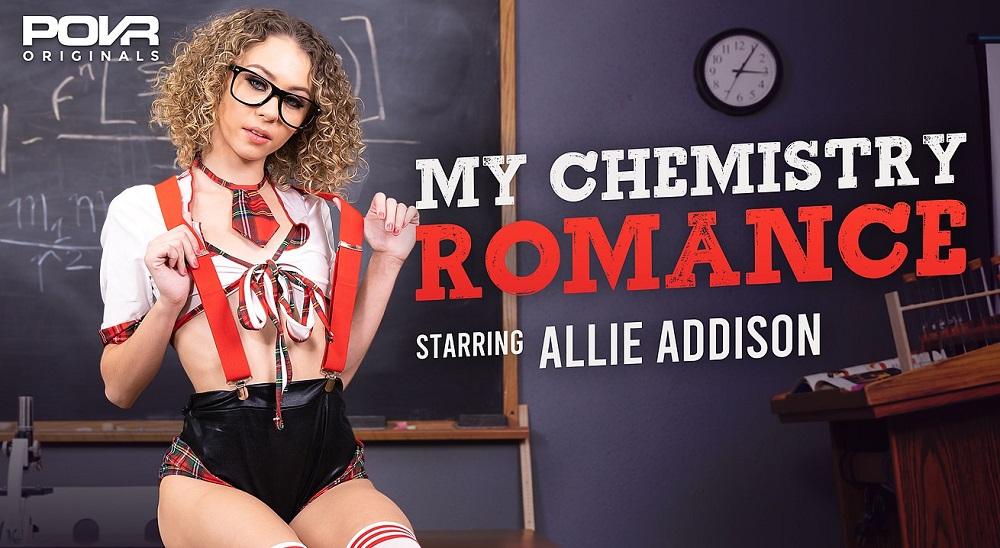 My Chemistry Romance, Allie Addison, 11 August, 2021, 3d vr porno, HQ 3600