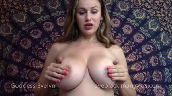 Goddess Evelyn - POV tits worship - Tit Slave (FullHD 1080p)